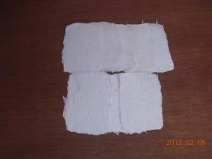 福島県 鮫川村 鮫川和紙 校長会 和紙漉き体験